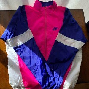 Vintage Nike Windbreaker/Jogger Suit. Size M.